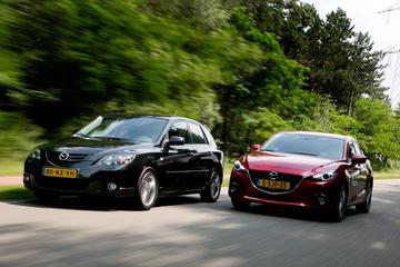 Oud & Nieuw: Mazda 3