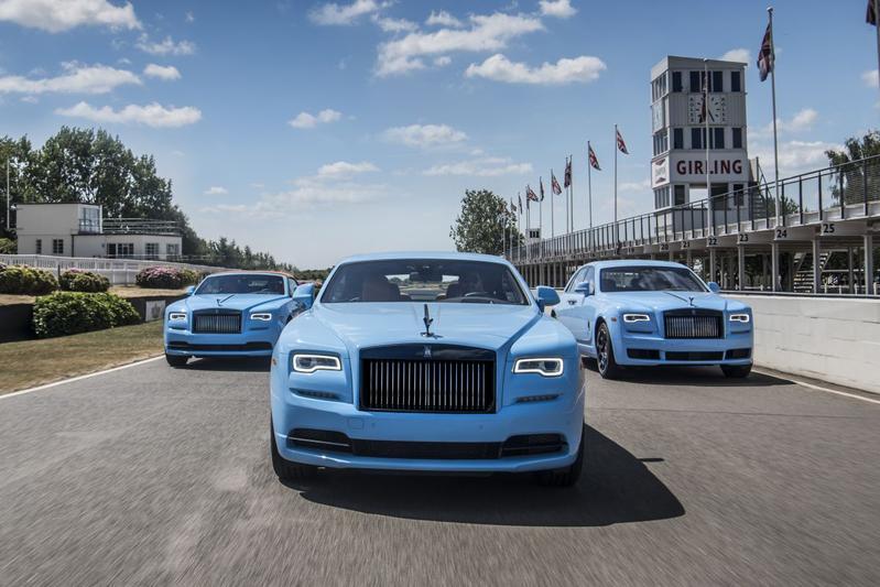 Collecties Rolls-Royce klaar voor onthulling