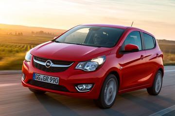 Afleverstop Opel Karl