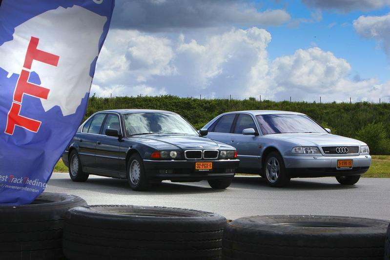 Occasion dubbeltest BMW 740i vs. Audi A8 4.2 quattro