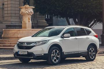 Verbruikscijfers Honda CR-V Hybrid bekend