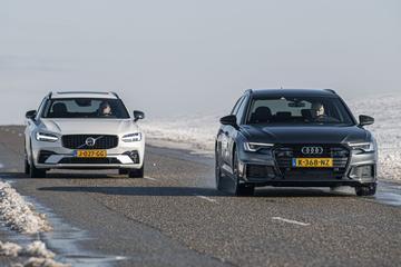 Audi A6 Avant 55 TFSIe vs. Volvo V90 T6 Recharge - Dubbeltest