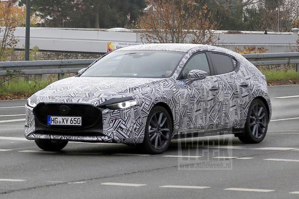 Spionage: Mazda 3