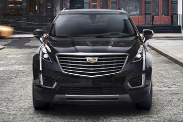 Cadillac laat front van XT5 zien