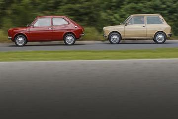 Autobianchi A112 en Fiat 127