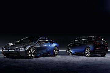 BMW i3 en i8 met kleurverloop