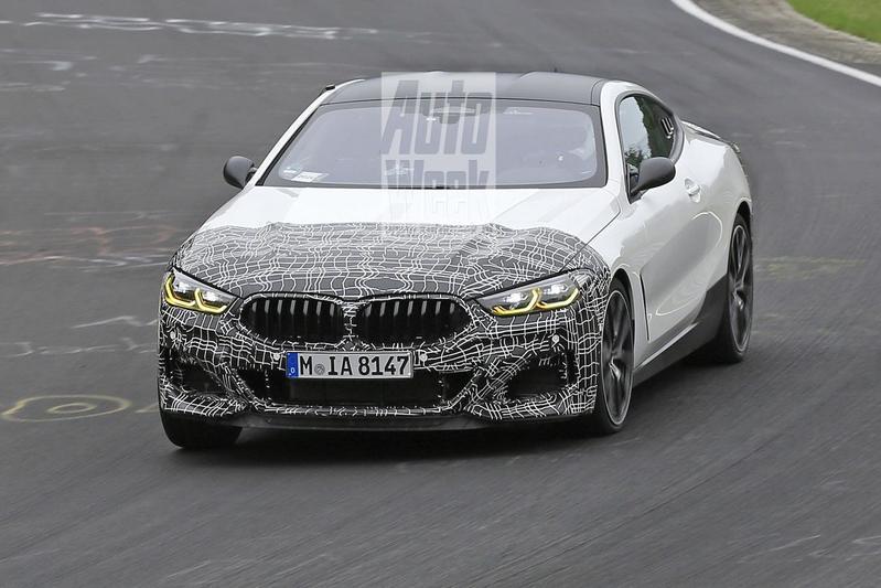 BMW 8-serie middenmotor spionage