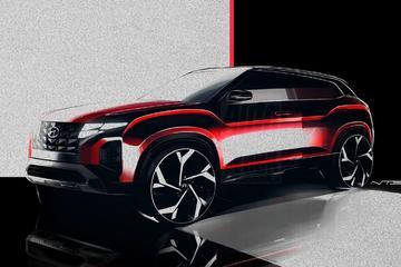 Hyundai Tucson-front sijpelt door naar kleine cross-over