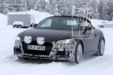 Voor de lens: gefacelifte Audi TT Roadster