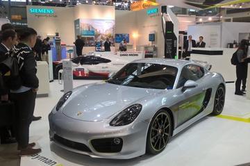 Porsche toont elektrische Cayman e-Volution