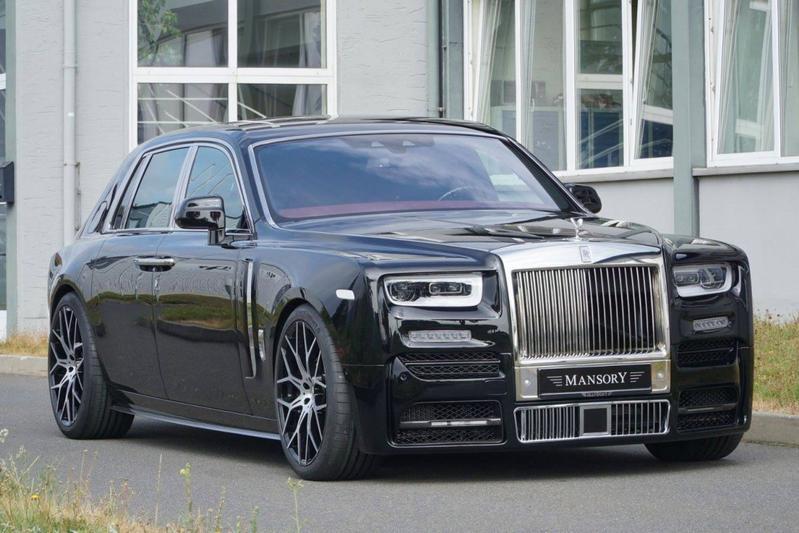 Mansory toont aangepaste Rolls-Royce Phantom