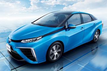Toyota Mirai: 155 pk en 335 Nm op waterstof