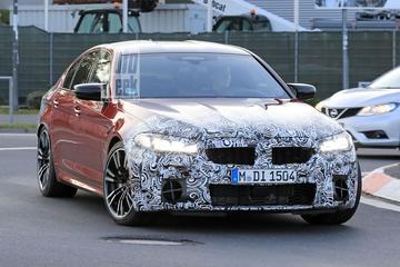 Bijgewerkte BMW M5 strekt de benen