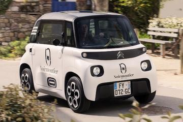 Citroën Ami als minuscule bestelauto