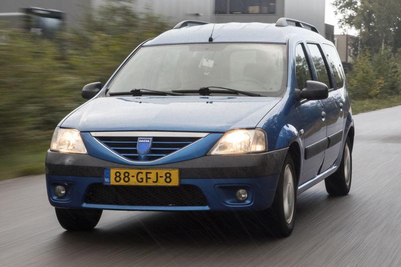 Dacia Logan MCV 1.6-16V – 2008 – 435.844 km - Klokje Rond