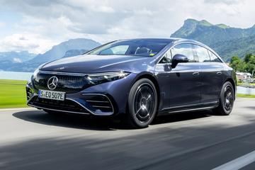 Mercedes-Benz EQS - Rij-impressie
