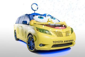 Toyota Sienna SpongeBob: te laat voor SEMA