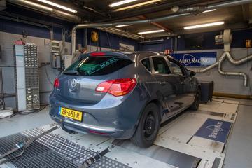 Opel Astra 1.4 Turbo - Op de Rollenbank