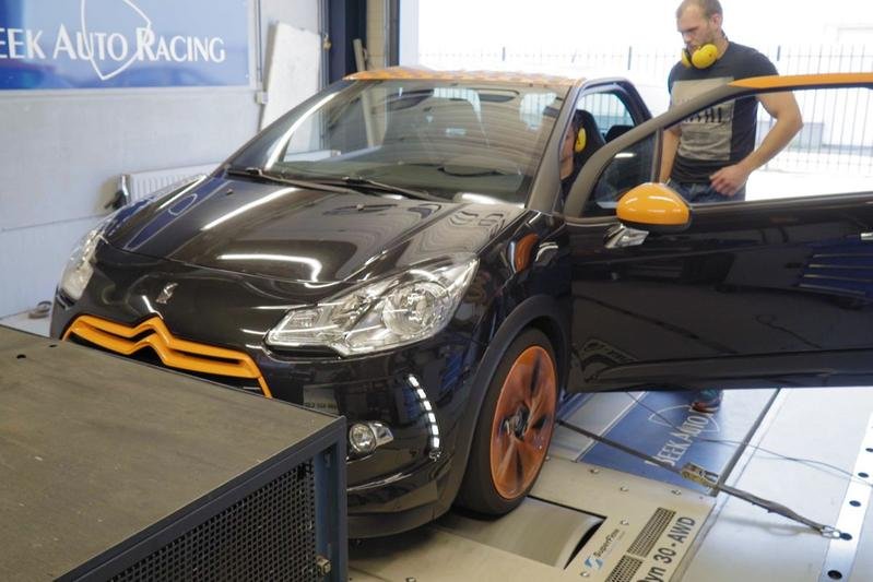 Citroën DS3 Racing - Op de Rollenbank