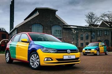 Volkswagen Polo weer als Harlekin
