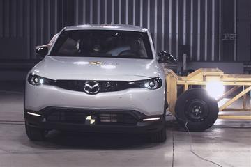 Vijf Euro NCAP-sterren voor Honda Jazz en Mazda MX-30
