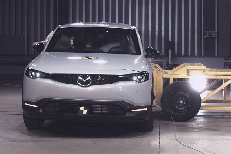 Euro NCAP Mazda MX-30 en Honda Jazz