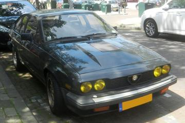 In het wild: Alfa Romeo GTV6 2.5 (1983)