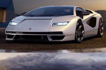 Herboren Lamborghini Countach nu al te zien