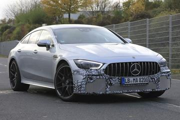 Mercedes-AMG GT 4-Door Coupé onder het mes