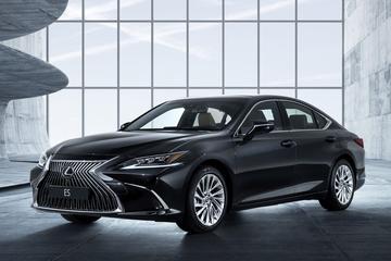 Volledig nieuwe Lexus ES is los