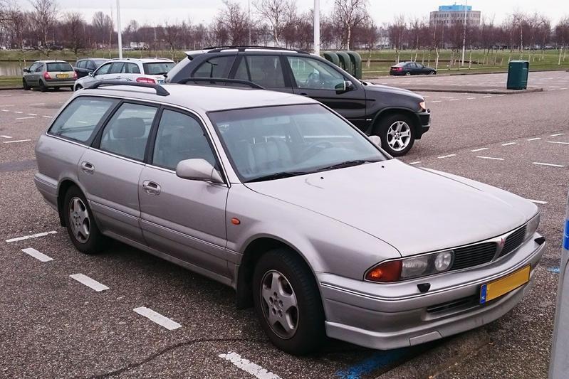 In het Wild: Mitsubishi Sigma Wagon