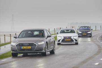 Audi A8 - BMW 7-serie - Lexus LS