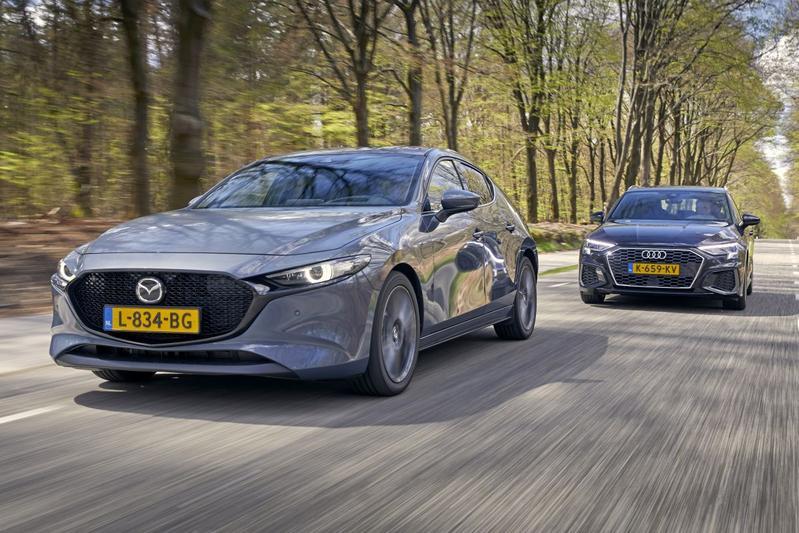 Test: Mazda 3 vs. Audi A3
