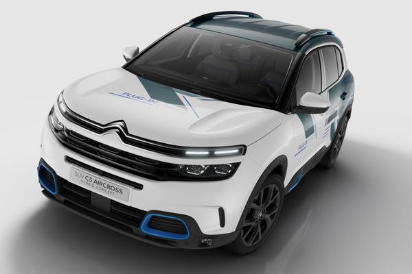 Dit is de Citroën C5 Aircross SUV Hybrid Concept