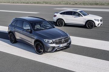 Mercedes-AMG GLC 63 en GLC Coupé 63 zijn los