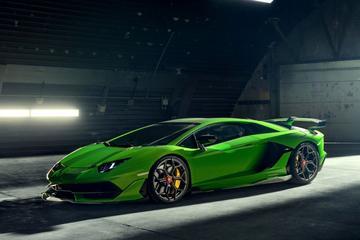Novitec stort zich op Lamborghini Aventador SVJ