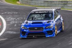 Subaru heeft snelste sedan op de 'Ring