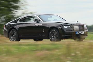Rolls Royce Wraith Black Badge - Rij-impressie