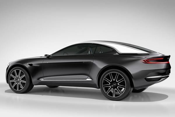 Aston Martin DBX níet als EV