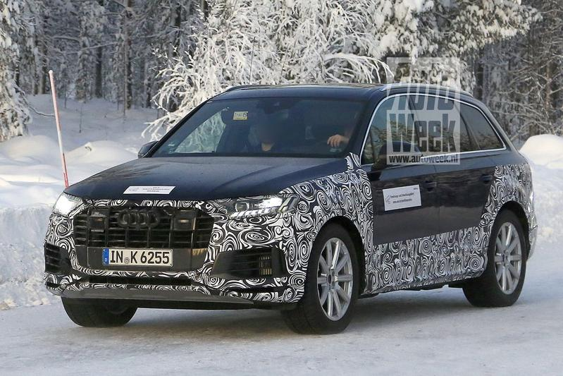 Spyshots Audi Q7