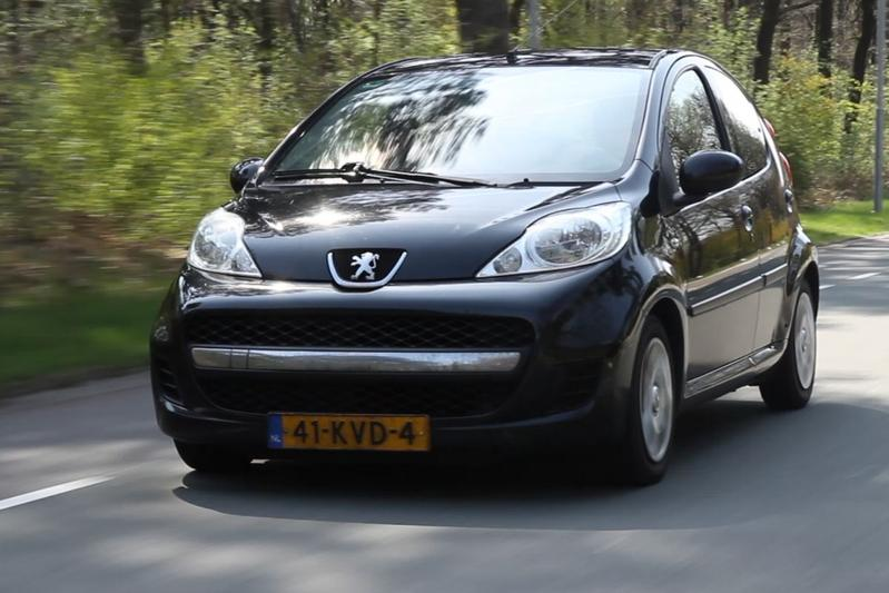 Peugeot 107 - 2010 - 339.813 km - Klokje Rond