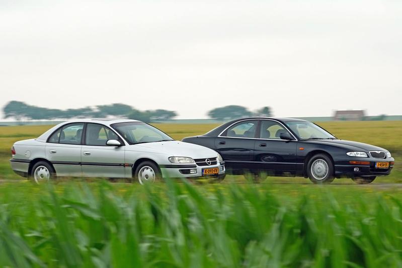 Mazda Xedos 9 vs. Opel Omega - Youngtimerdubbeltest