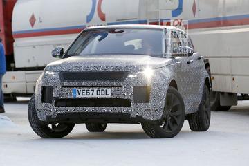 In de kou: nieuwe Range Rover Evoque