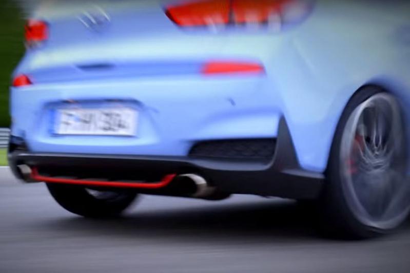 Teaservideo Hyundai i30 N