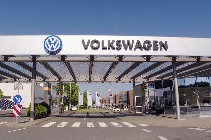 Volkswagen Zwickau EV plant fabriek
