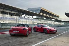 Porsche 718 Cayman en 718 Boxster als GTS