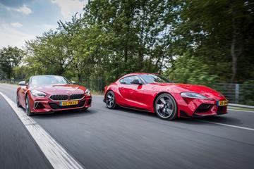 BMW Z4 M40i vs. Toyota Supra - Dubbeltest