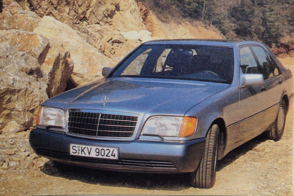 Mercedes-Benz S-klasse (W140) 1991