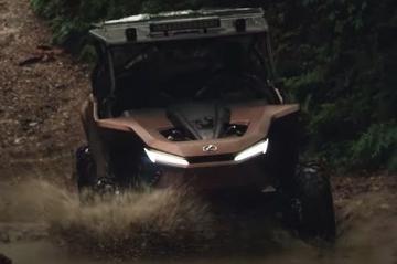 Lexus ROV: op waterstof van de gebaande paden