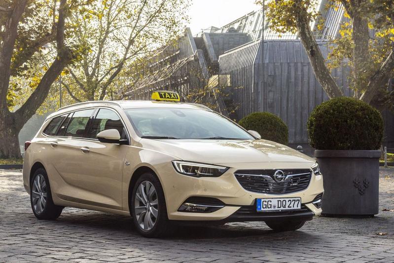 Opel Insignia Sports Tourer voor Duitse taximarkt